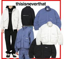★韓国の人気★【thisisneverthat】★Sportsman Jacket★3色★