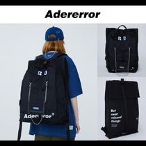 ADERERROR★20SS UNISEX Rivet label fusion bag