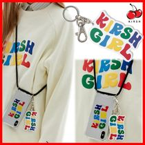 ☆韓国の人気☆【Kirsh】☆KIRSH GIRL RAINBOW KEY RING JS☆