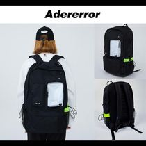 ADERERROR★20SS UNISEX Corro backpack