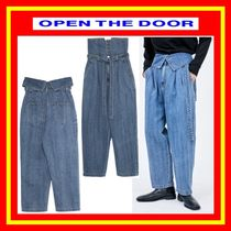 [OPEN THE DOOR]  genderless jeans  /男女兼用 /追跡付