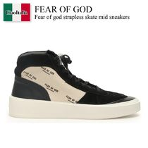 Fear of god strapless skate mid sneakers