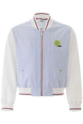 THOM BROWNE ジャケットその他 Thom browne bomber jacket with tennis patch(2)