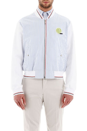 THOM BROWNE ジャケットその他 Thom browne bomber jacket with tennis patch(3)