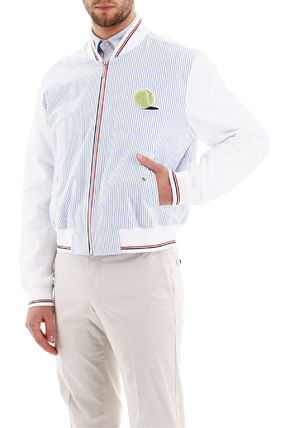 THOM BROWNE ジャケットその他 Thom browne bomber jacket with tennis patch(5)