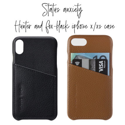STATUS ANXIETY スマホケース・テックアクセサリー 【STATUS ANXIETY】Hunter and Fox iPhone X/XS Case