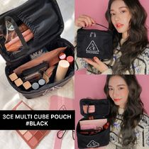 [韓国発/送料込]3CE★MULTI CUBE POUCH #BLACK