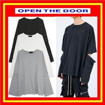 [OPEN THE DOOR] elbow button T ◆3色◆男女兼用/追跡付