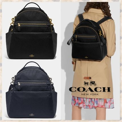 Coach マザーズバッグ ☆Coach コーチ 新作 Baby Backpack マザーズバッグ