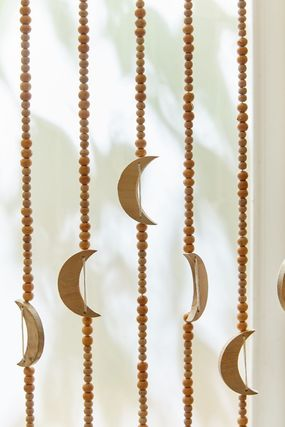 Urban Outfitters カーテン オシャレ雑貨☆URBAN OUTFITTERS☆Crescent Beaded Curtain(3)