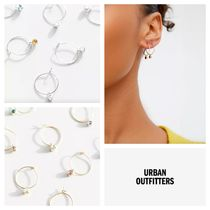 ★Urban Outfitters★ストーン・ミニフープ・ピアスセット