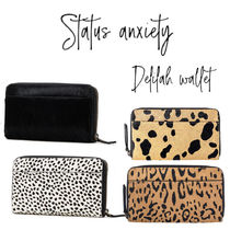 【STATUS ANXIETY】Delilah Wallet スマホ・パスポートも入る♪