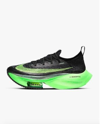 Nike Air Zoom Alphafly Next% Black Electric Green 27.5㎝