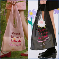rolarola★大人気★SHEER ECO BAG_BG-20302