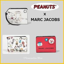 MARC JACOBS【スヌーピーコラボ】THE BOX MINI COMPACT WALLET☆