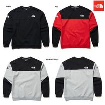 【新作】 THE NORTH FACE  ★ M'S CROSS COLORS SWEATSHIRTS