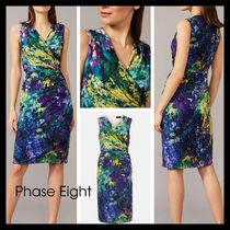 【Phase Eight】日本未入荷! Beau Floral Fitted Dress 花柄