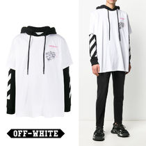 関税負担なし☆Off-White Golden Ratio T-shirt hoodie