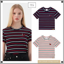 ROMANTIC CROWNの[KIRSH X RMTC] GNAC STRIPED CHERRY TEE 全2色