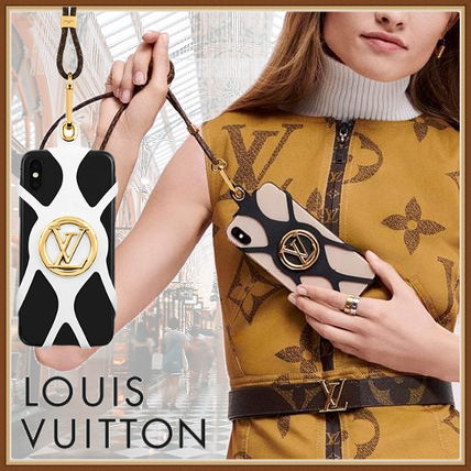 Louis Vuitton スマホケース・テックアクセサリー 即対応【国内ルイヴィトン】フォンホルダー ルイーズ for iPhone