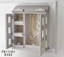 ★Pottery Barn★Dollhouse Jewellery Cabinet☆アクセボックス