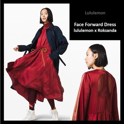 【 lululemon x Roksanda 】☆限定コラボ☆ Face Forward Dress