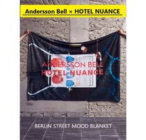 ANDERSSON BELL(アンダースンベル) ブランケット ★Andersson Bell × HOTEL NUANCE★BERLIN STREET MOOD BLANKET
