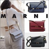 手元在庫品★【MARNI】TRUNK MINI CALFSKIN 3WAY BAG
