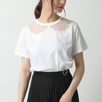 RED VALENTINO Tシャツ TR3MG05J 4WR 襟 カットソー