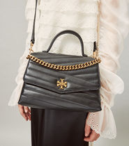 Tory Burch(トリーバーチ) KIRA CHEVRON TOP-HANDLE SATCHEL