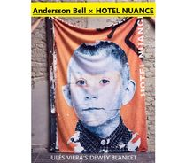 ANDERSSON BELL(アンダースンベル) ブランケット(ひざ掛け) ★AnderssonBell × HOTEL NUANCE★JULES VIERA'S DEWEY BLANKET