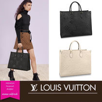 LOUIS VUITTON ルイ・ヴィトン ★ ON THE GO GM トート バッグ
