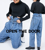 OPEN THE DOOR(オープンザドア) パンツ OPEN THE DOOR genderless jeans