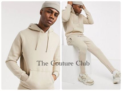 The Couture Club セットアップ 関送込★The Couture Club★ロゴパーカー セットアップ/ベージュ
