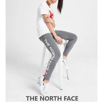 THE NORTH FACE ロゴ レギンス Grey【関税送料込/国内発送】