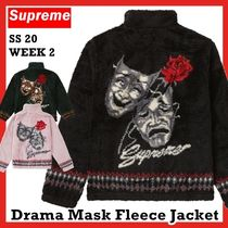SUPREME Drama Mask Fleece Jacket SS 20 WEEK 2 ジャケット