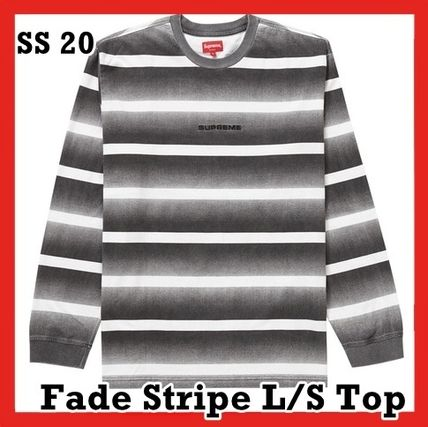 Supreme トップスその他 Supreme Fade Stripe L/S Top WEEK 2 SS 20