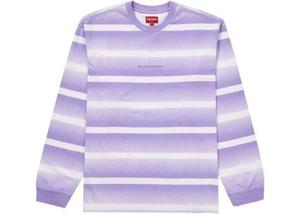 Supreme トップスその他 Supreme Fade Stripe L/S Top WEEK 2 SS 20(3)