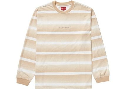Supreme トップスその他 Supreme Fade Stripe L/S Top WEEK 2 SS 20(4)