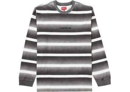 Supreme トップスその他 Supreme Fade Stripe L/S Top WEEK 2 SS 20(5)