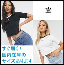 【関送込】◇adidas Originals◇ cropped trefoil Tシャツ