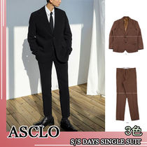 ASCLO★韓国の人気★2020 S/S SLIMFIT SINGLE SUIT 3色