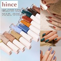 20SS★【hince】GLOW UP NAIL COLOR 全6色 [追跡付]