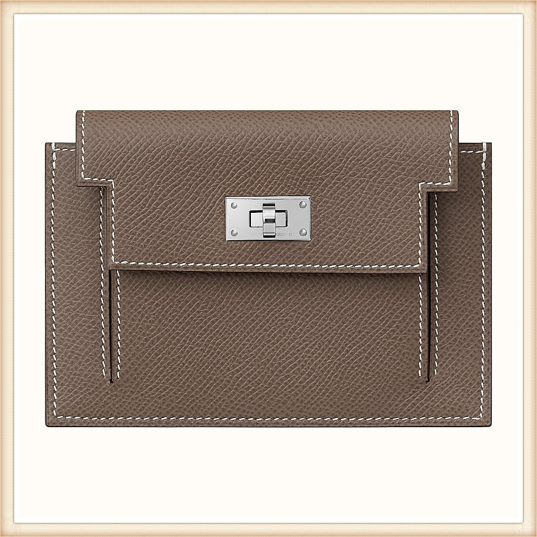 HERMES Kelly Pocket Compact wallet ケリーコンパクト財布 (HERMES/折りたたみ財布) H079001CK18