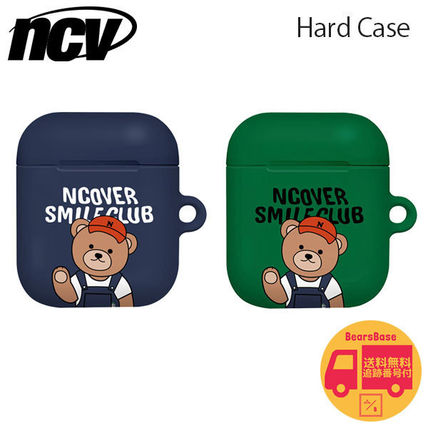 ncover スマホケース・テックアクセサリー NCOVER Overall pants bruin AirPods Hard Case BBM721 追跡付