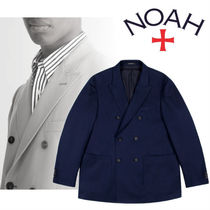 ◇20SS◆完売必須◆NOAH◆Cotton Double Breasted Jacket