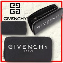 送料込・関税込☆GIVENCHY☆COATED CANVAS ZIP-AROUND WALLET☆