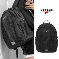 VETEZE Double Youth Backpack ナイロン バッグ 大容量 リュック