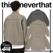 thisisneverthat Overdyed Oxford Jacket MH1365 追跡付