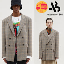 Andersson Bell UNISEX CHECK BREASTED JACKET BBN712 追跡付